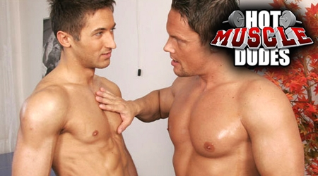 'Visit 'Hot Muscle Dudes''