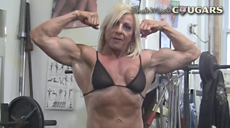 'Visit 'Female Muscle Cougars''