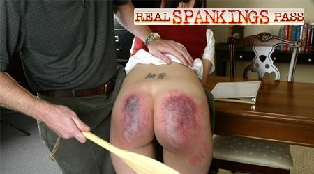 'Visit 'Real Spanking Pass''