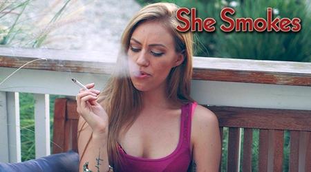 'Visit 'She Smokes''