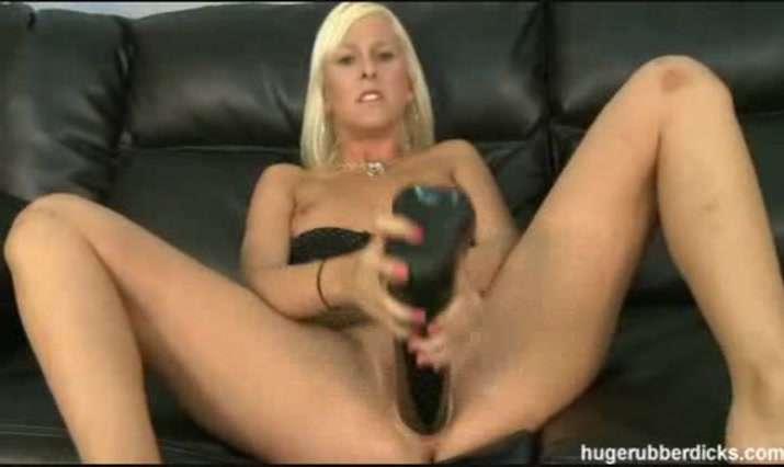 Huge Rubber Dicks Video