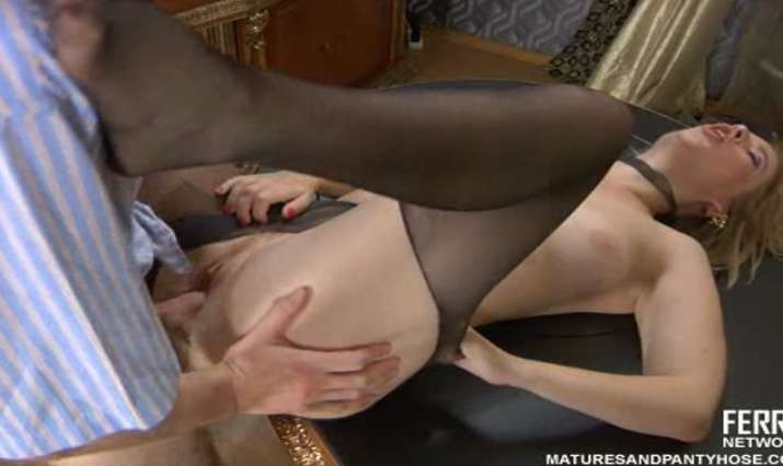 Matures and Pantyhose Video