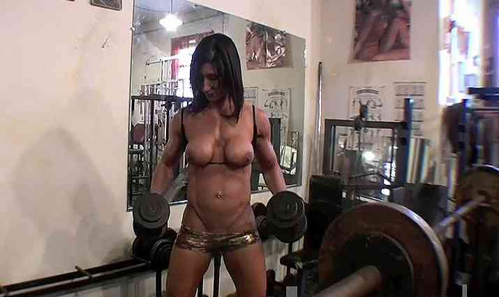 She Muscle Gym Video
