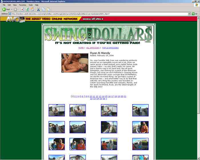 Visit Swing For Dollars