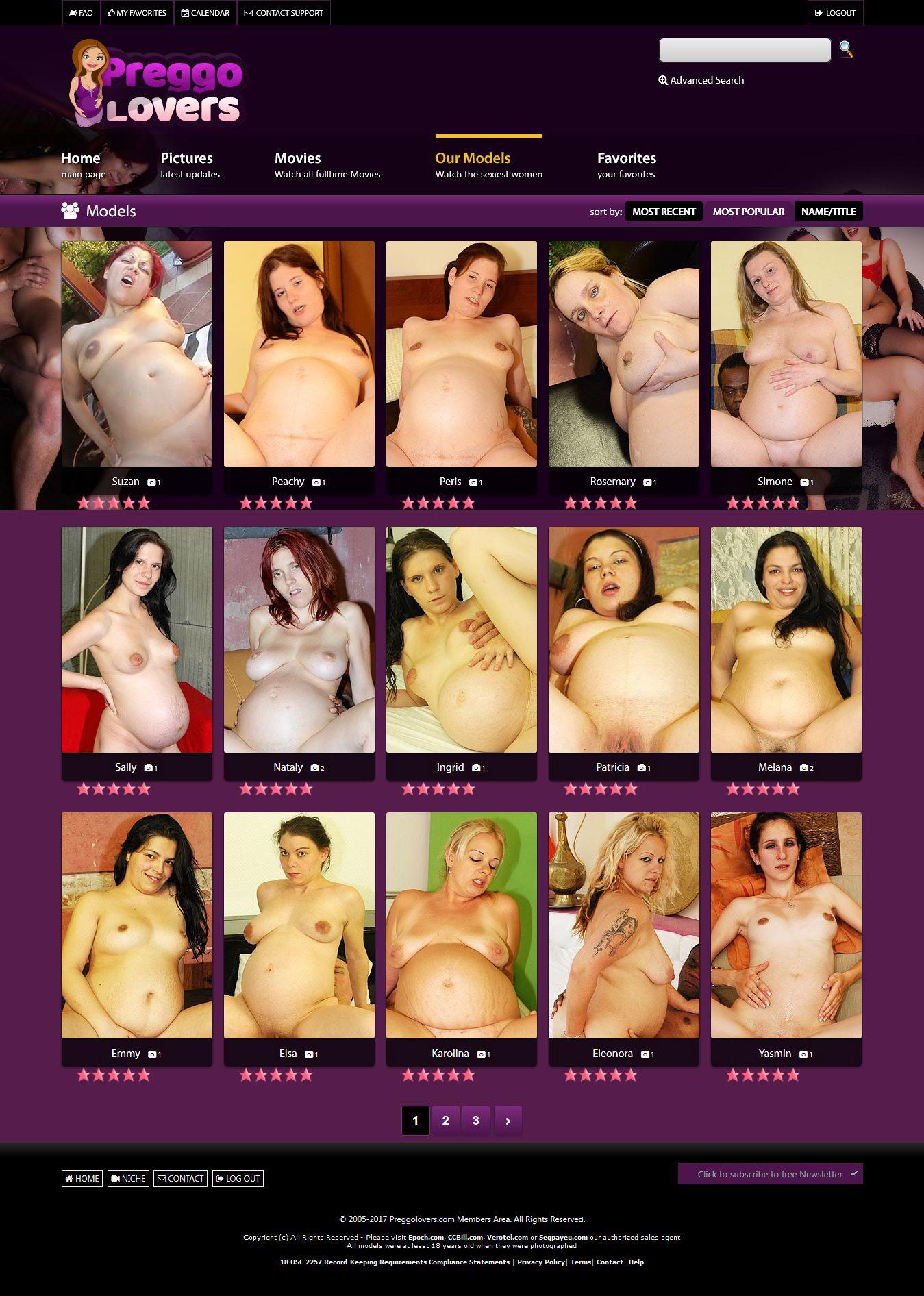 Preggo Porn Site