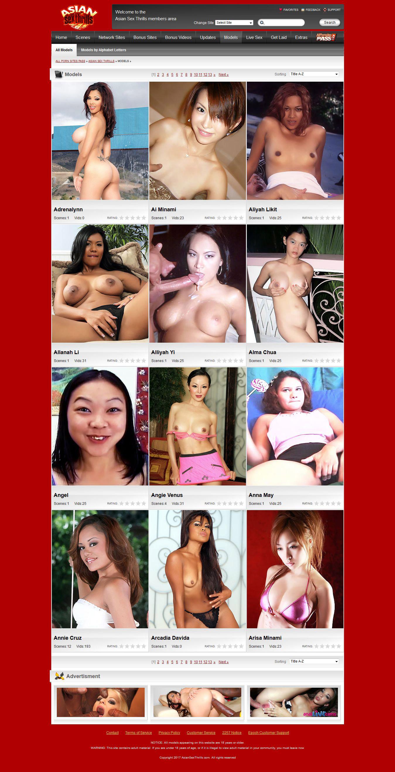 Aziatische Sex Thrills