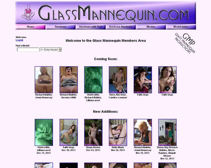 Join Glass Mannequin