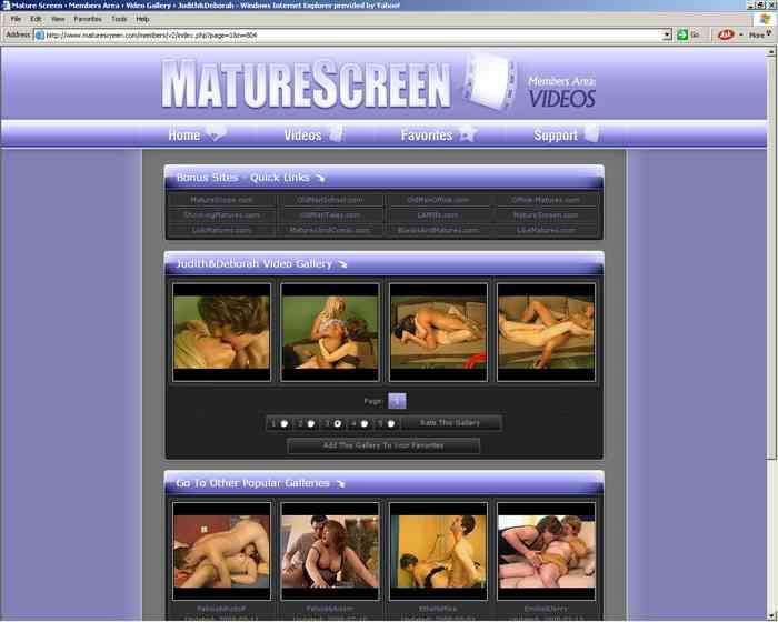 Visit Mature Screen
