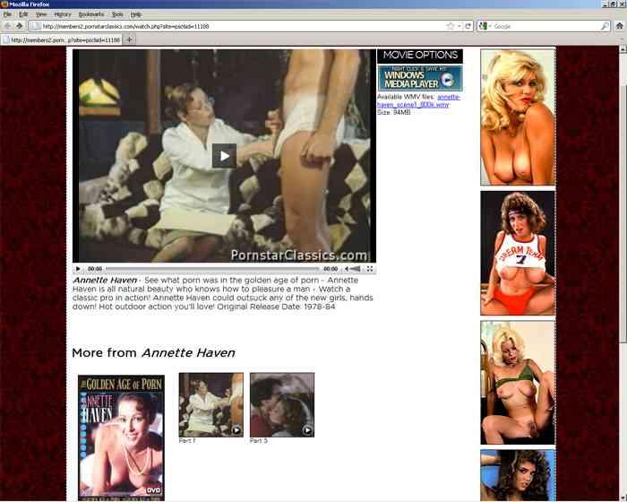 Join Pornstar Classics