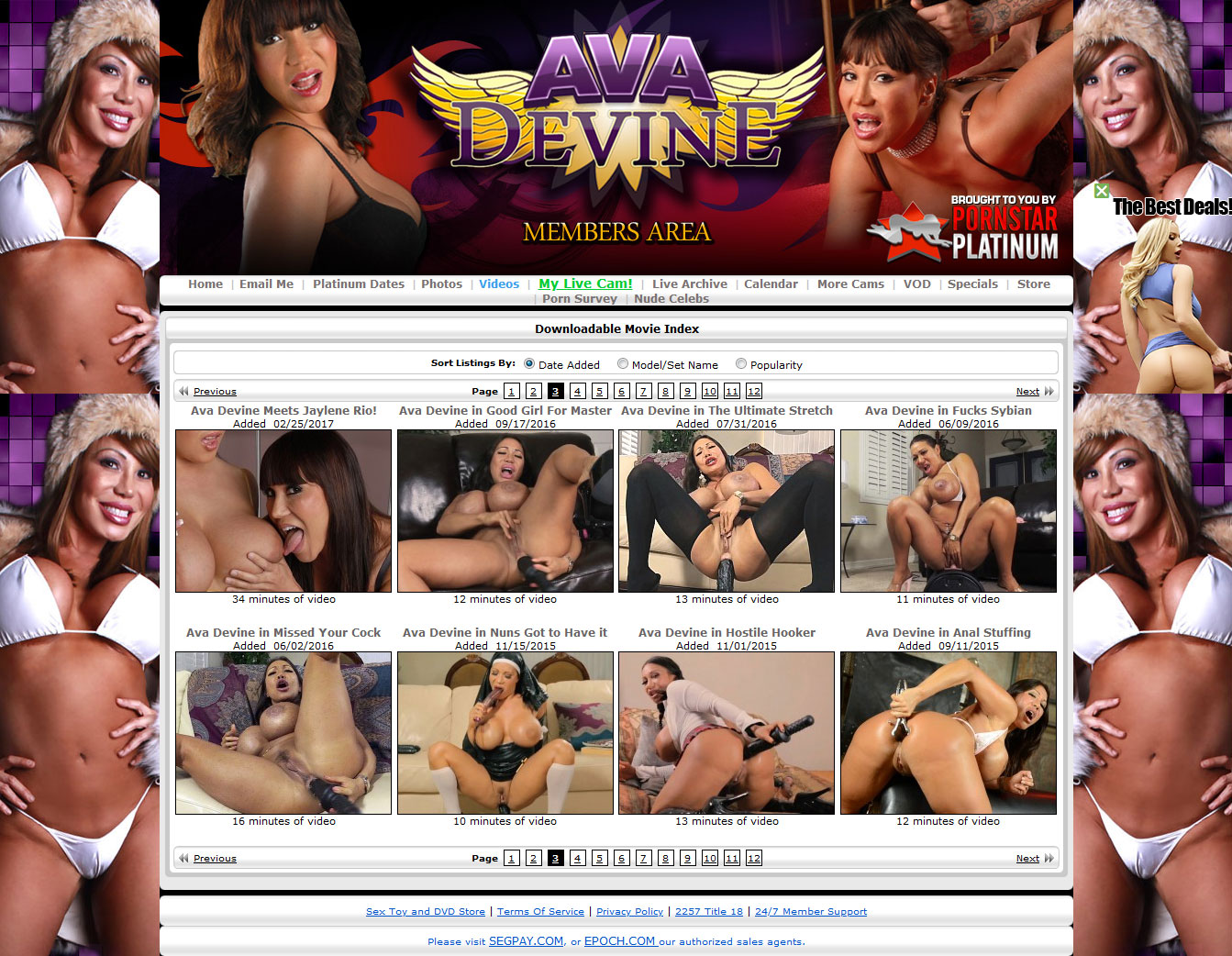 Ava Devine Gold Tube Porn ava devine review & discount. enter here & save!