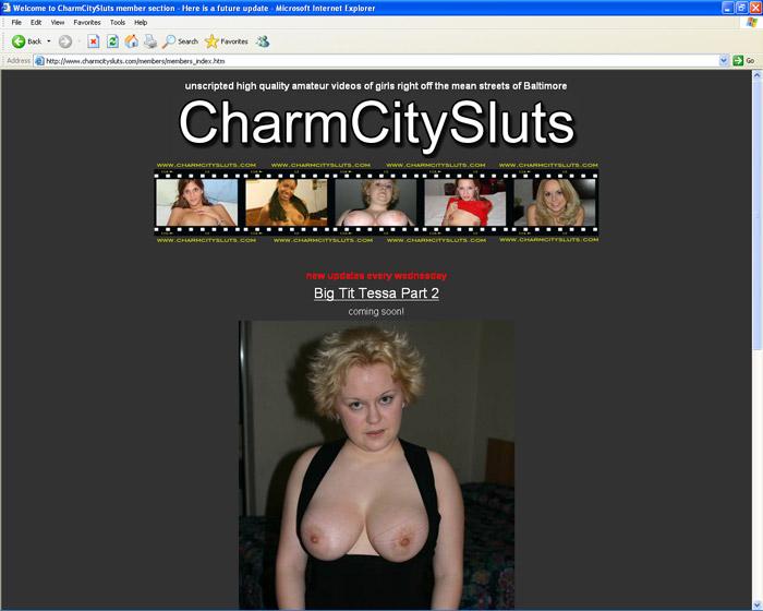 Charm city sluts