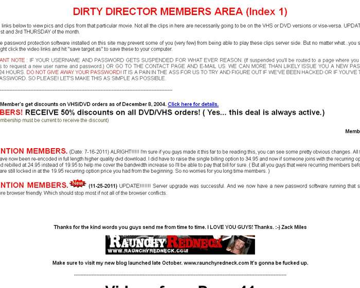 Visit 'Dirty Director'