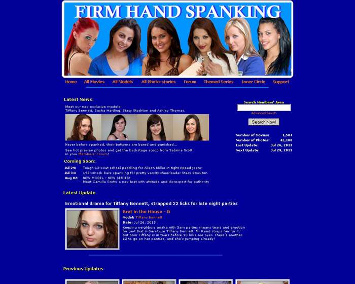 Visit 'Firm Hand Spanking'
