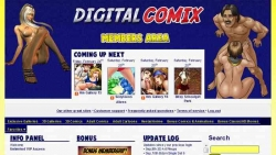 Preview #1 for 'Digital Comix'
