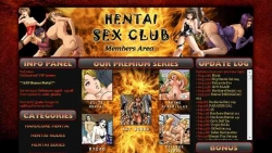 Preview #1 for 'Hentai Sex Club'