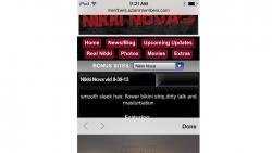 Preview #4 for 'Club Nikki Nova Mobile'