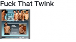 Preview #1 for 'Fuck That Twink'