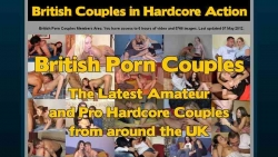 Preview #1 for 'British Porn Couples'