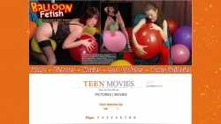 Preview #2 for 'Balloon Fetish Teens'