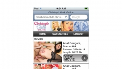 Preview #1 for 'Christoph Clark Online Mobile'