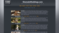 Preview #1 for 'Shemale Weddings'