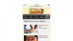 Preview #4 for 'BBW Hunter Mobile'