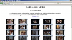 Preview #2 for 'Latinas On Video'