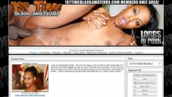 Preview #1 for '1st Time Black Amateurs'