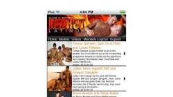 Preview #1 for 'Red Hot Latinos Mobile'