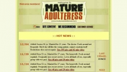 Preview #1 for 'Mature Adultress'