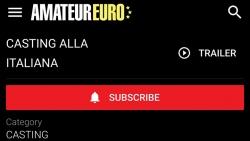 Preview #1 for 'Casting Alla Italiana'