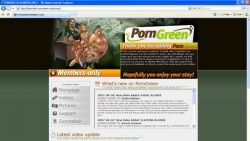 Preview #1 for 'Porn Green'