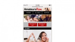 Preview #1 for 'Amateurs Raw Mobile'
