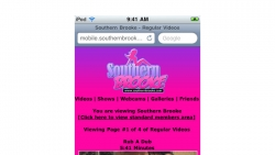 Preview #1 for 'Southern Brooke Mobile'