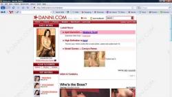 Preview #1 for 'Danni.com'