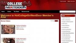 Preview #1 for 'Hot College Girl Next Door'