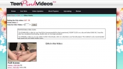 Preview #3 for 'Teen Pink Videos'