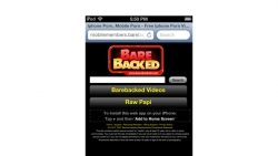Preview #1 for 'Barebacked Mobile'