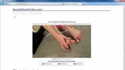 Preview #4 for 'Beautiful Feet Online'