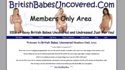 Preview #1 for 'British Babes Uncovered'