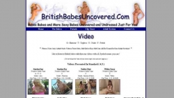 Preview #2 for 'British Babes Uncovered'