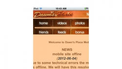 Preview #1 for 'Dawns Place Mobile'
