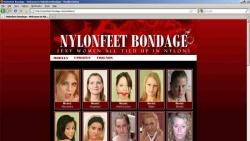 Preview #1 for 'Nylon Feet Bondage'