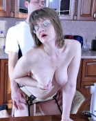 lady in glasses getting fucked