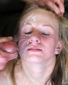 getting a messy facial