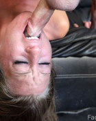 getting her throat fucked