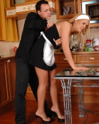 stud banging hot maid
