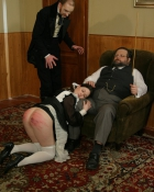 maid punished by master