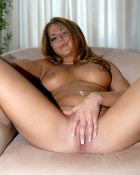 lustful woman massaging love hole