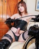 shemale domme with whip